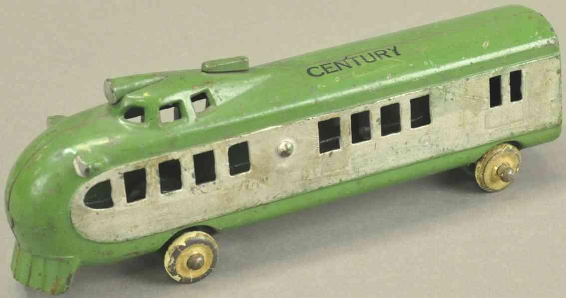 kenton hardware co spielzeug gusseisen bodenlaeufer lokomotive gruen weiss