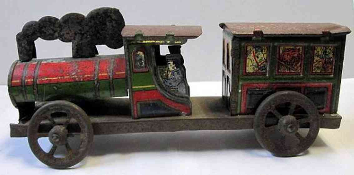 meiji spielzeug eisenbahn bodenlaeufer lokomotive