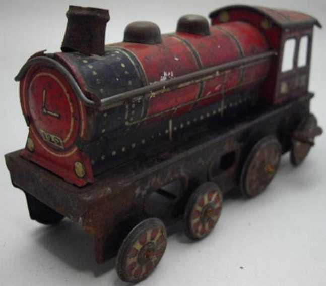 Meiji Bodenläufer Lokomotive mit Friktionsantrieb