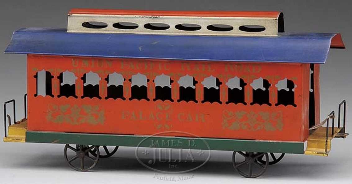 Merriam Bodenläufer Personenwagen der Union Pacific