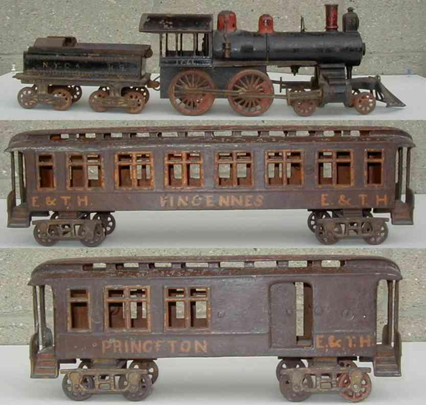 pratt & letchworth railway toy floor train buffalo