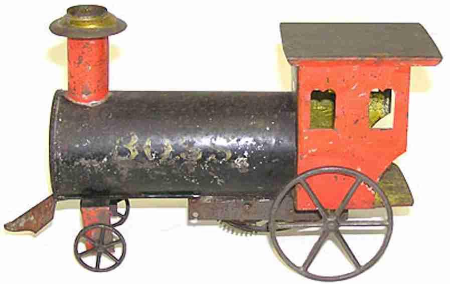 Bodenläufer Uhrwerklokomotive BOSS