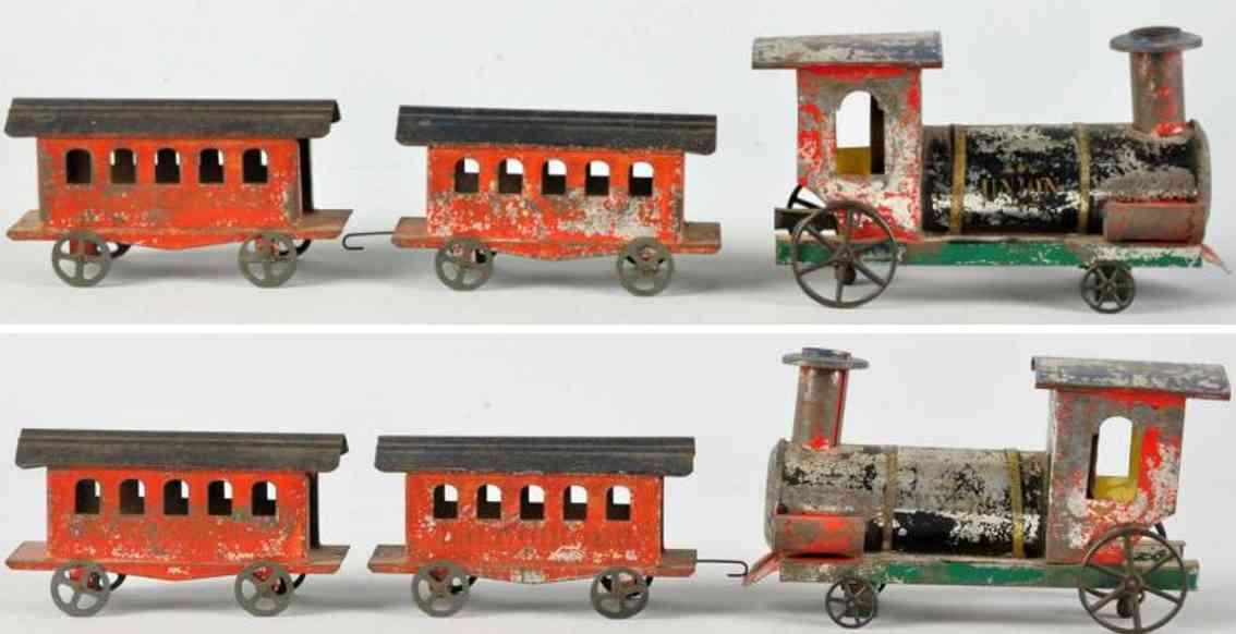 Bodenläufer Dampflokomotive Union Personenwagen Balt Ohio RR