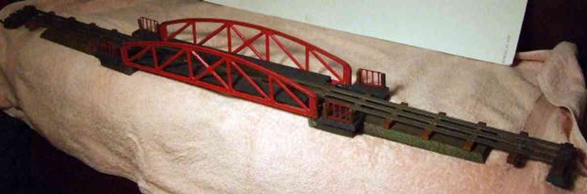 edobaud railway toy bridge