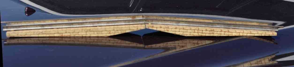 ives 100 (1904) spielzeug eisenbahn bruecke brücke. die nummer 100 ist die basisbrücke. die 101 ist iden