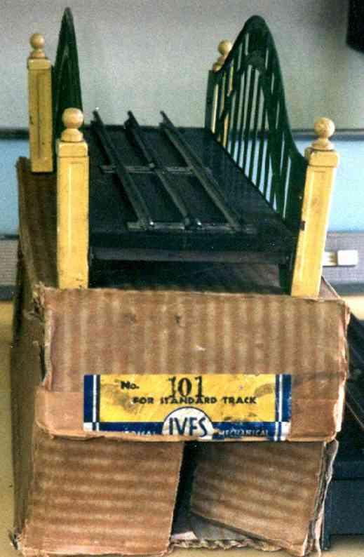 ives 101 spielzeug eisenbahn bruecke brücke