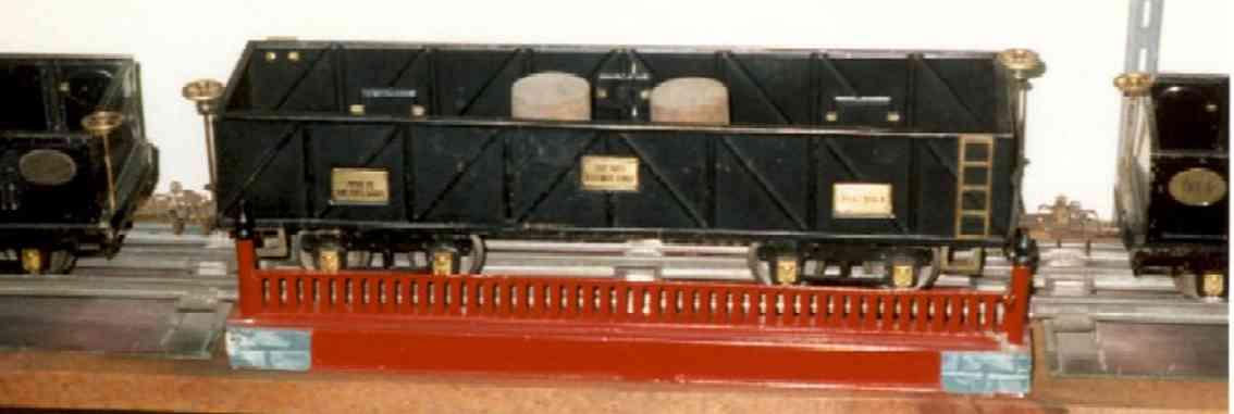 ives 101 spielzeug eisenbahn bruecke die scheint die letzte brücke aus dem katalog von 1928 zu se