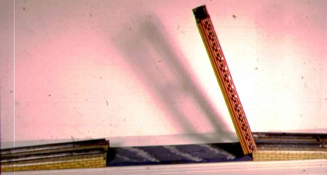 ives 102 spielzeug eisenbahn bruecke mittelteil rauf und runter fahrbar