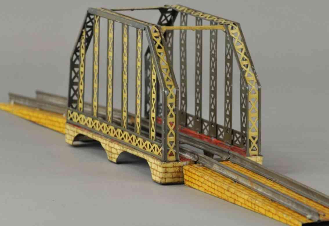 ives 98 toy miniature railway system bridge gauge 0