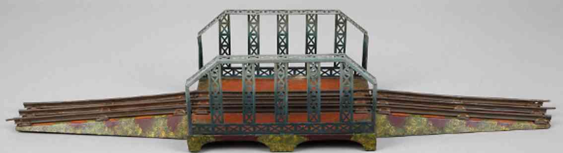 kraus-fandor 2052/1/17 railway toy railroad lattice bridge gauge 1