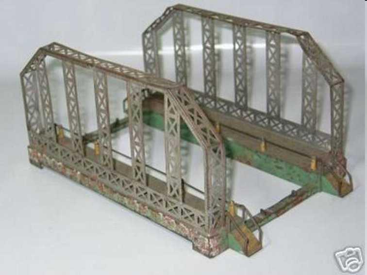 Kraus-Fandor 2059/0 Gitterbrücke mit 2 Auffahrten