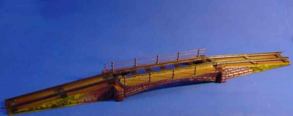 maerklin 2501/1 2375/1 spielzeug eisenbahn bruecke spur 1