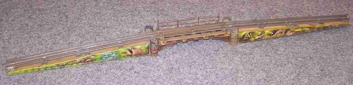 maerklin 2502/1 spielzeug eisenbahn bruecke spur 1