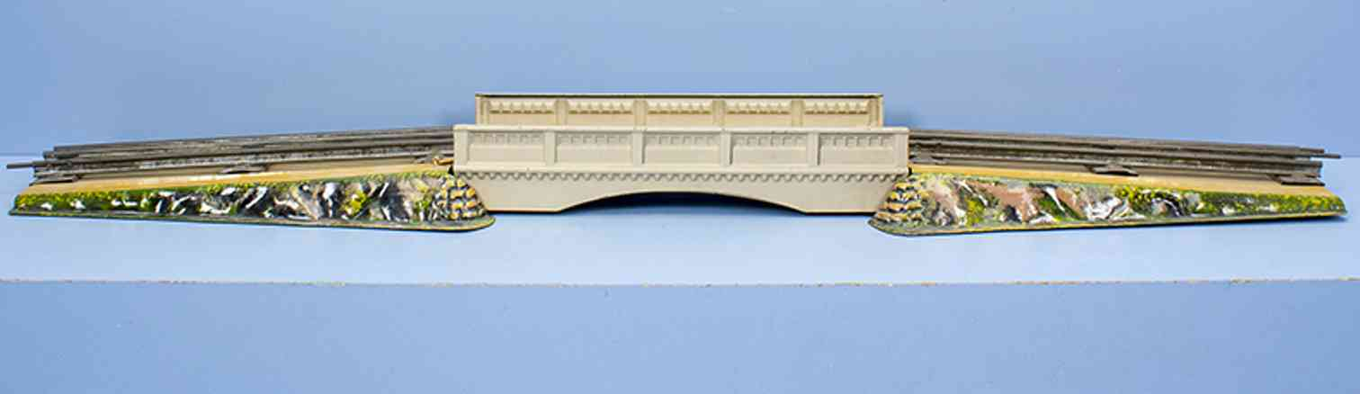 marklin maerklin 2507/0 el railway toy railroad bridge gauge 0