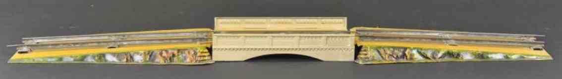 maerklin 2508/0 spielzeug eisenbahn bruecke spur 0