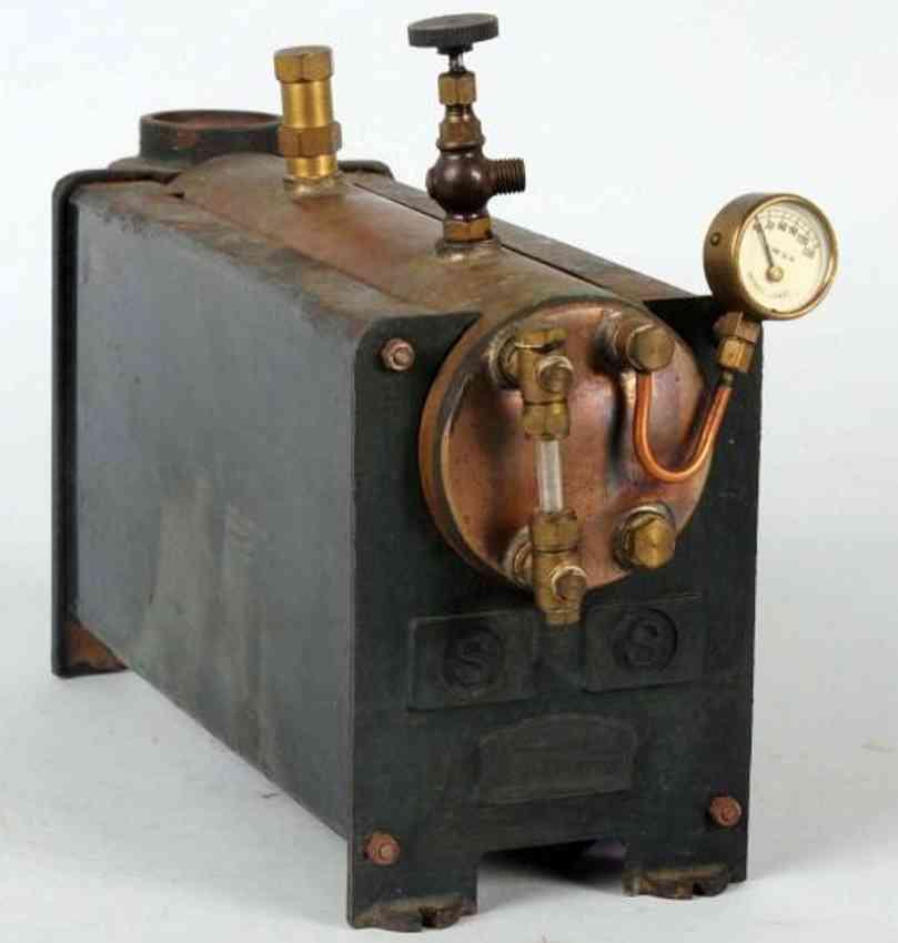 bassett-lowke liegende dampfmaschine