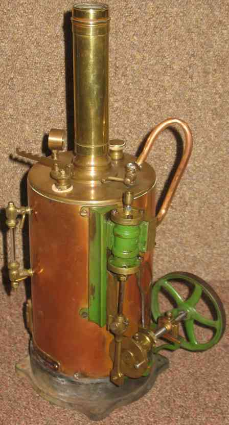 bassett-lowke vertical steam toy wjbl&co