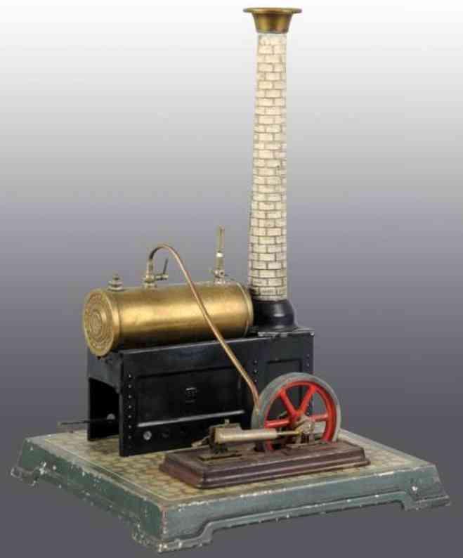 Bing 10/128 Liegende Dampfmaschine