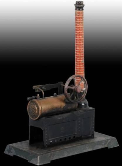 Bing 10/129/2 Lokomobile Dampfmaschine mit Brenner