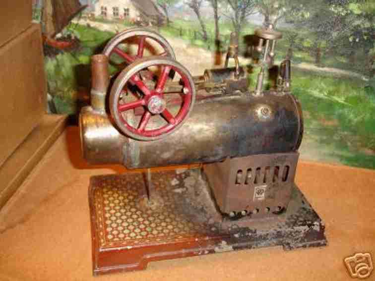 Bing 10/142/3 stationäre Dampfmaschine