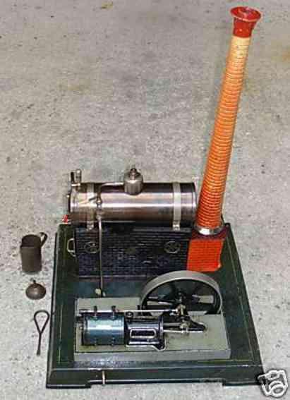 Bing 130/120 Liegende Dampfmaschine