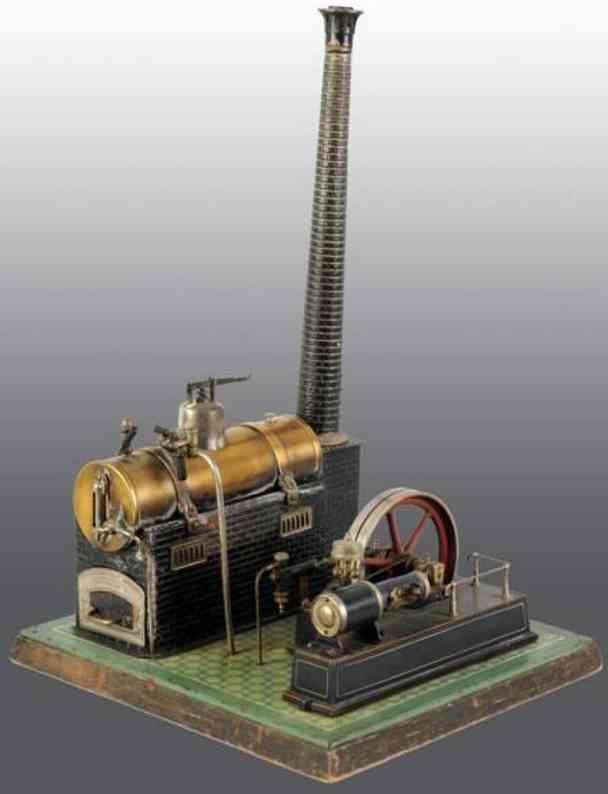 Bing 130/280 Liegende Dampfmaschine