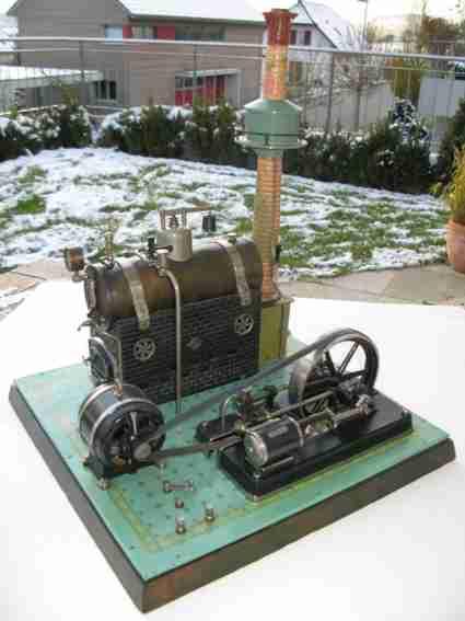 Bing 130/281 Liegende Dampfmaschine