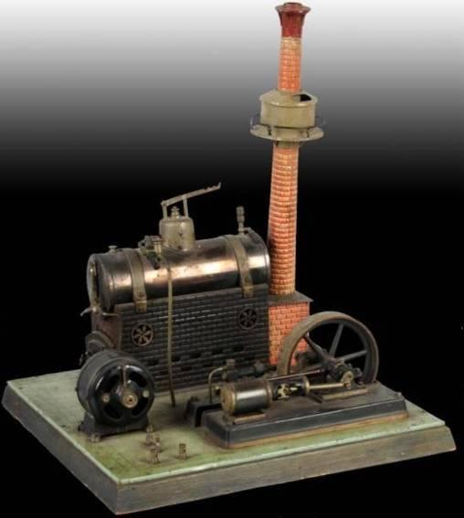 Bing 130/381/1 Liegende Dampfmaschine