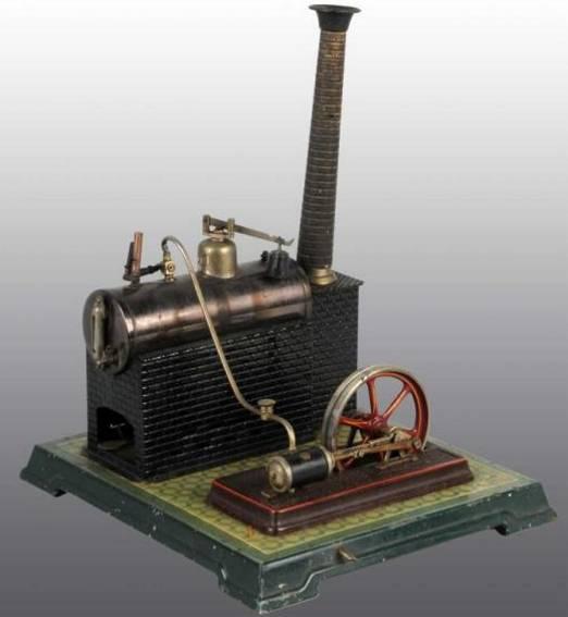 Bing 130/463 Liegende Dampfmaschinen