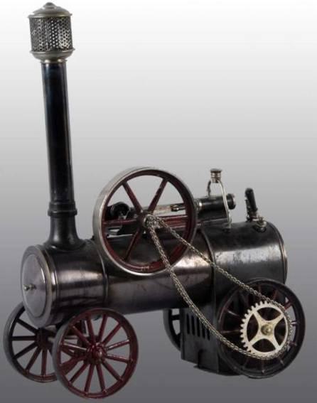 bing 130/733 dampfspielzeug fahrbare lokomobile zugdampfmaschine mit kleineer feuerbox ohne die späteren erw