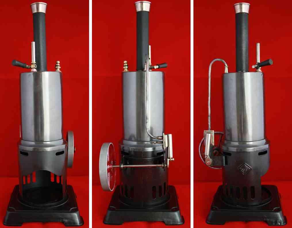 bing 130/812 dampfspielzeug stehende dampfmaschine