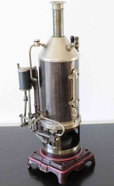 bing 130/91 dampfspielzeug stehende dampfmaschine dampfmaschine mit kesselspeisepumpe mit hebelübersetzung und