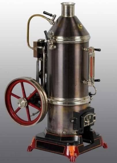Bing 130/97 Stehende Dampfmaschine