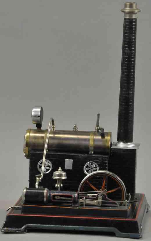 bing 135/120 dampfspielzeug liegende dampfmaschine