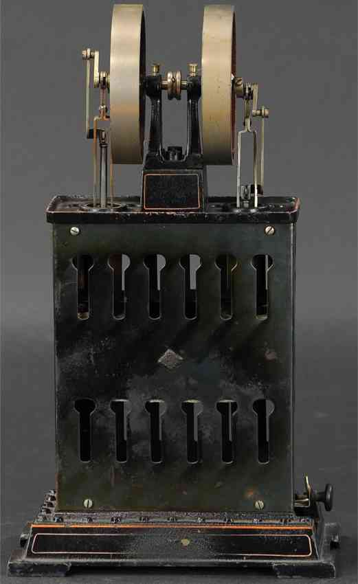 bing 135/50 steam toy standing vertical hot air motor