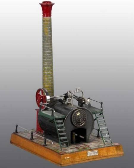 bing 130/251 13675/1 dampfspielzeug stationaere lokomobile
