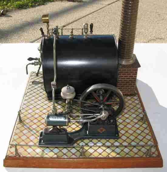 Bing 13676/2 Liegende Dampfmaschine Vanna