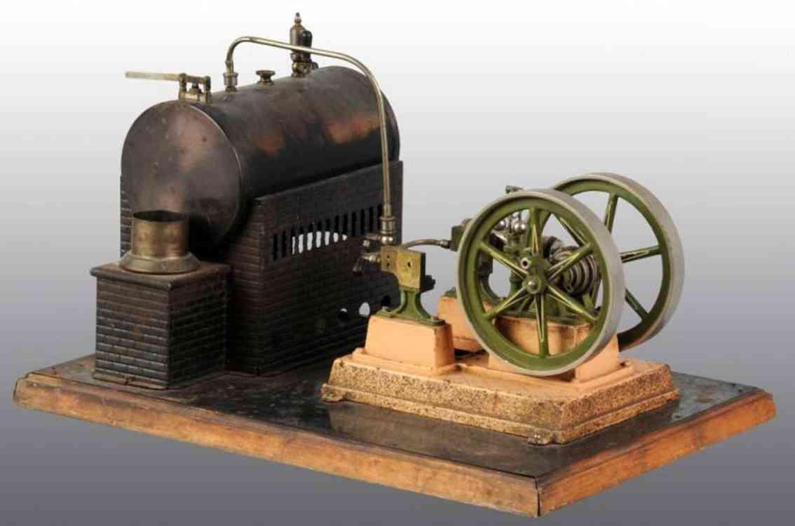 Bing 6101 Liegende Dampfmaschine Duplex