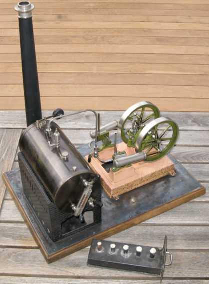 Bing 6101 Double cylinder steam engine