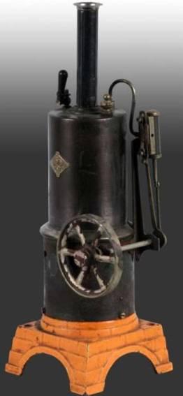 bing 7123 vertical steam toy vertical steam engine