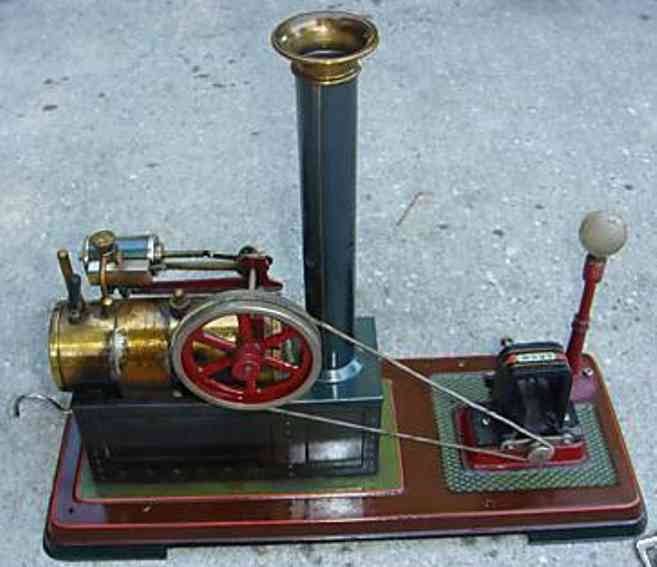 bing 10/116/1 or 130/531 dampfspielzeug liegende dampfmaschine dampfmaschine 10/116/1(1914 bis 1924) oder 130/531 (1925-192