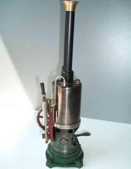 Bing stehende Dampfmaschine oszillierender Zylinder