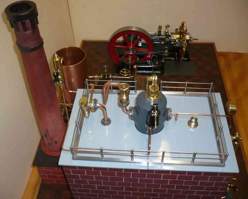 Bischoff Wilhelm 203 Horizontal Steam Engine