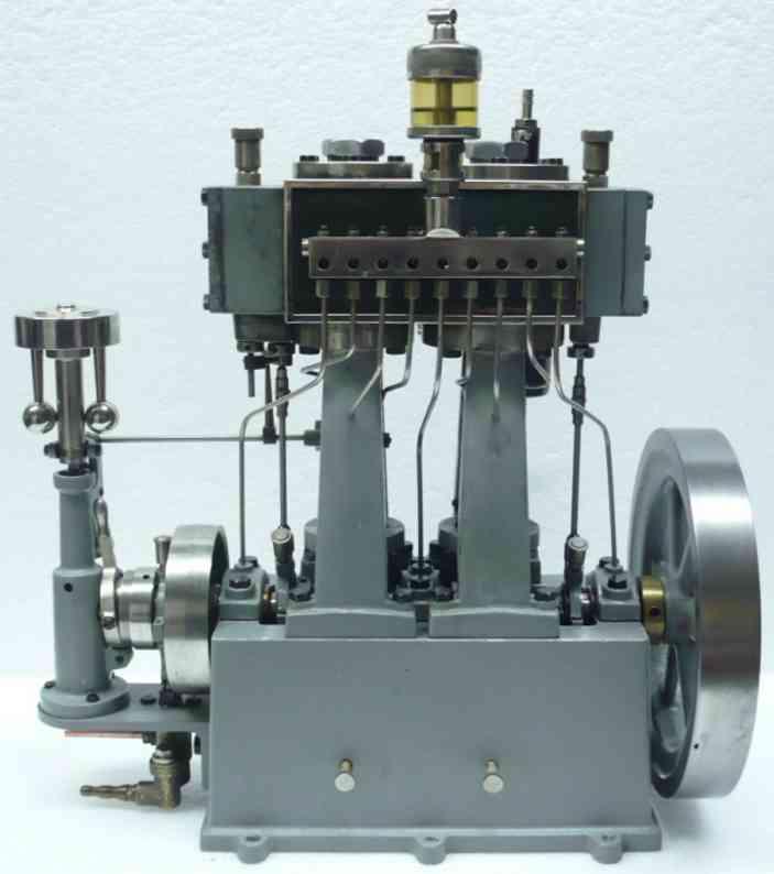 bischoff wilhelm 262 dampfspielzeug lokomobile  schiffsdampfmaschine