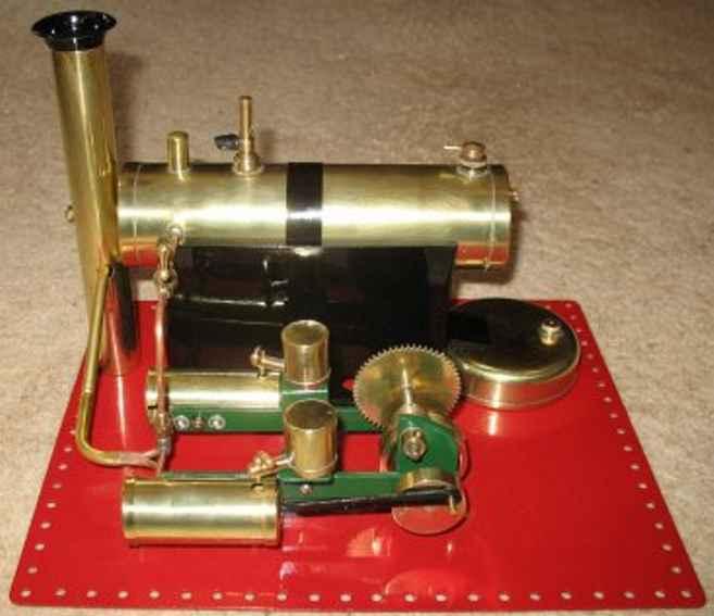 Bowman M122 Liegende Dampfmaschine