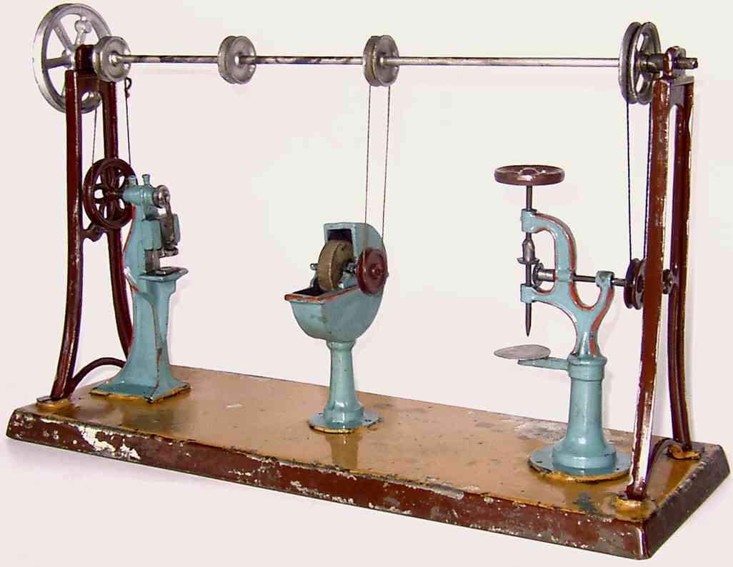 karl bub steam toy factory workshop transmission eccentric press tench foresail