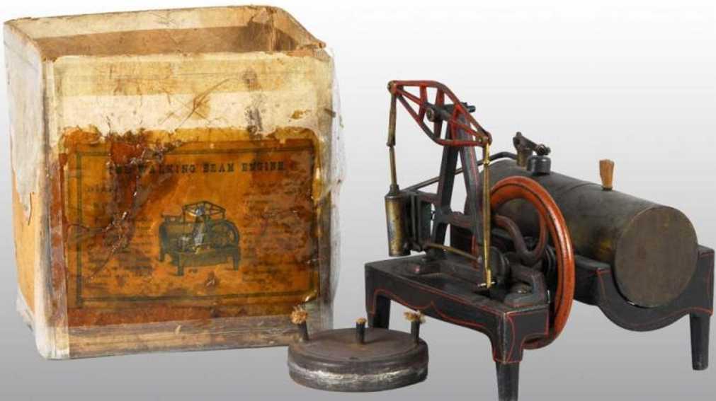 Buckmann Manufacturing Liegende Dampfmaschine