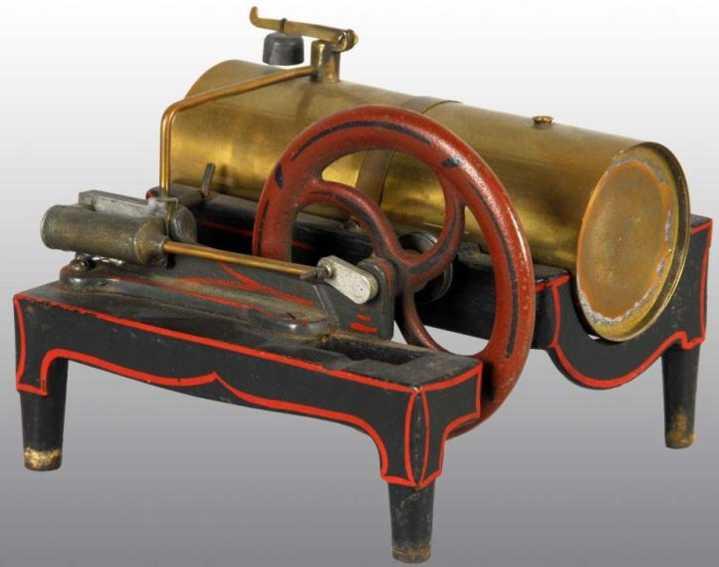 buckmann manufacturing company of brooklyn dampfspielzeug liegende dampfmaschine dampfmaschine
