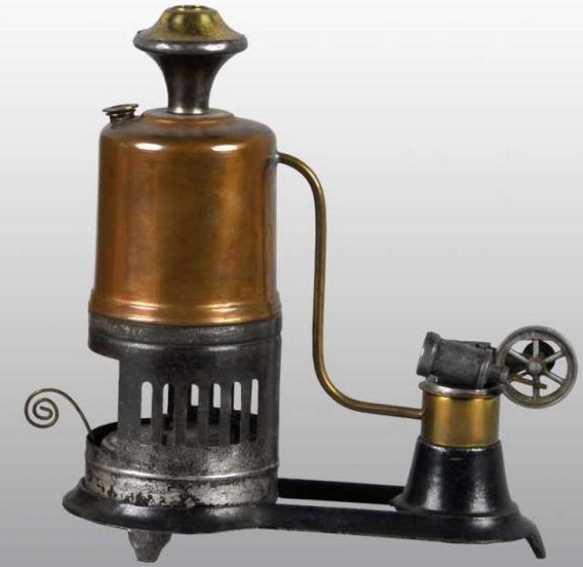 Buckmann Manufacturing Company of Brooklyn Stehende Dampfmaschinen Edelstein