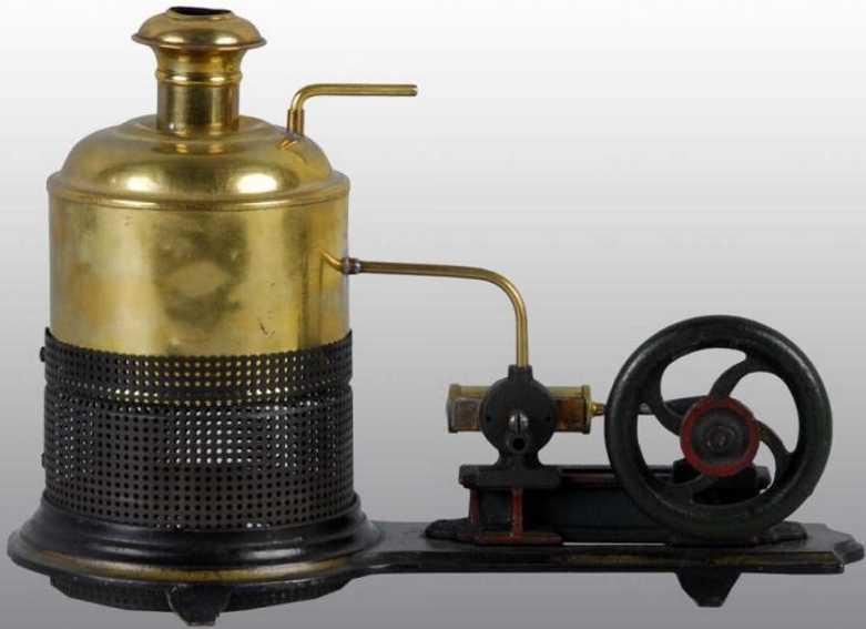 Buckmann Manufacturing Company of Brooklyn Stehende Dampfmaschine